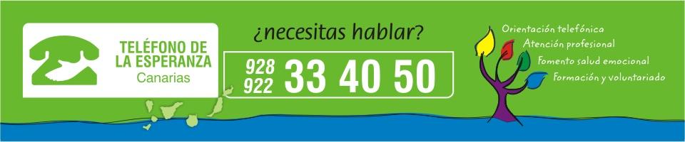 Teléfono de la Esperanza Canarias