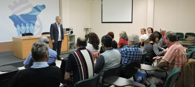 Conferencia en el Centro de Entidades de Voluntariado de Tenerife