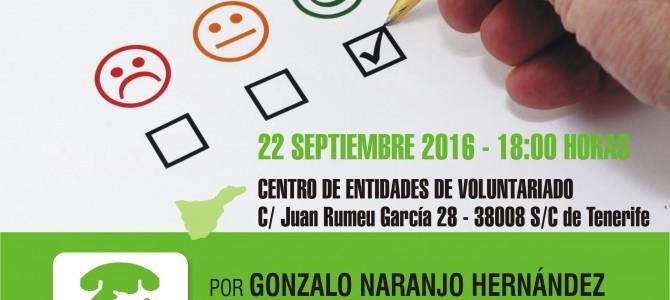 """""""CÓMO MEJORAR TU CONFIANZA Y COMUNICACIÓN CON LOS DEMÁS"""" Conferencia jueves 22 septiembre 18,00 en S/C de Tenerife"""