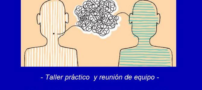 """""""¿Queja o Demanda?"""": Tema de formación permanente del mes de Junio del equipo de Teléfono de la Esperanza de Canarias."""