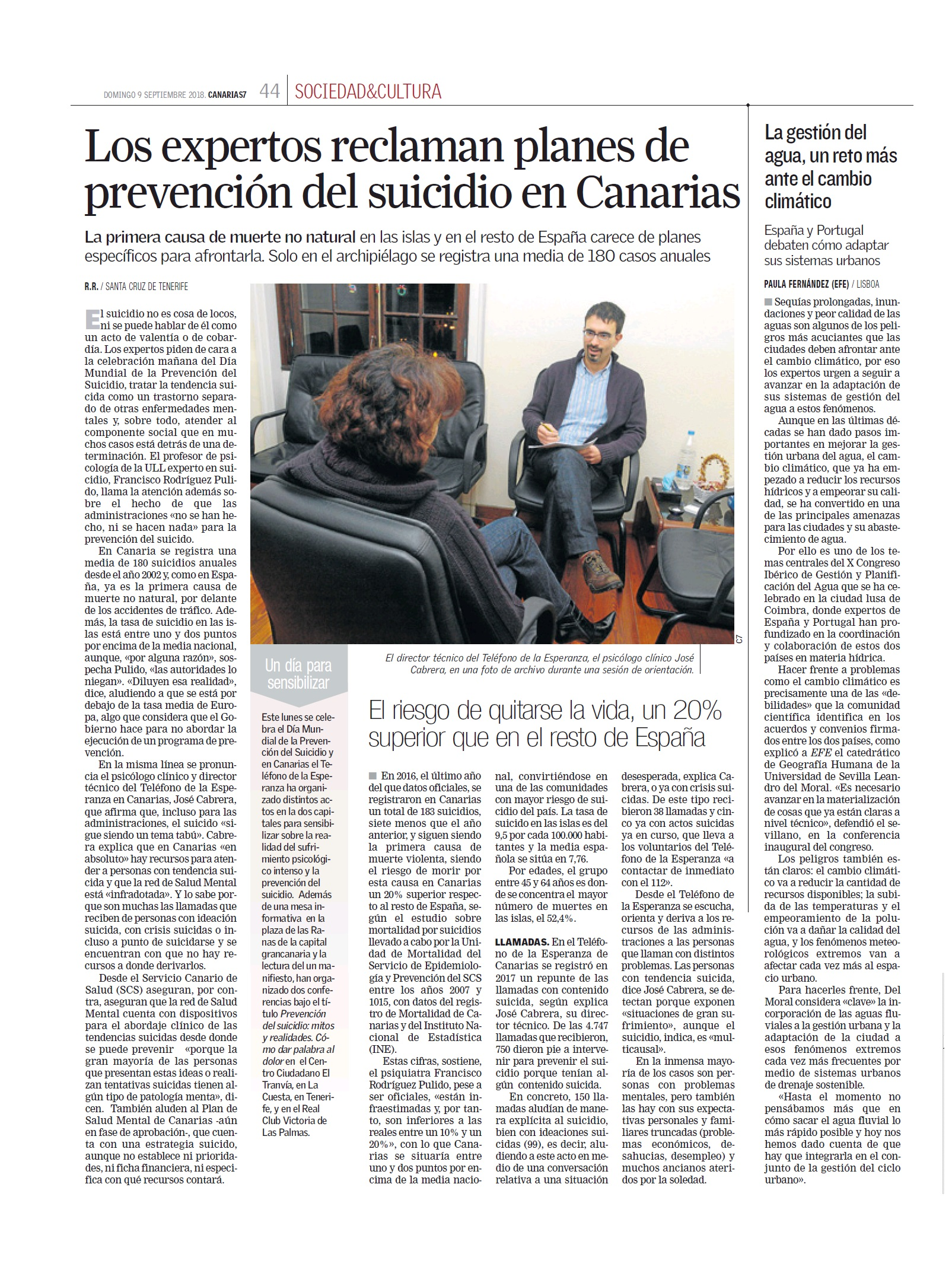 ARTICULO T.E. - DIA PREV SUICIDIO CANARIAS7 9.9.2018