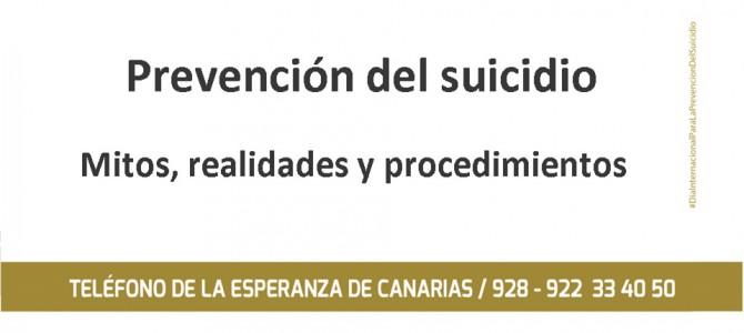 Teléfono de la Esperanza forma en Prevención del Suicidio a Trabajador@s Sociales de Atención Primaria