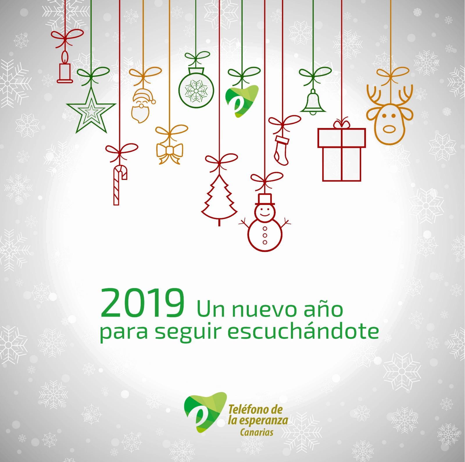 Tarjeta Navidad TE 2018