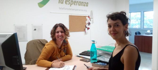 """El Teléfono de la Esperanza, con su proyecto """"Teléfono de las Personas Mayores de Canarias"""", participa en el diagnóstico de La Laguna como ciudad amigable con las personas mayores."""