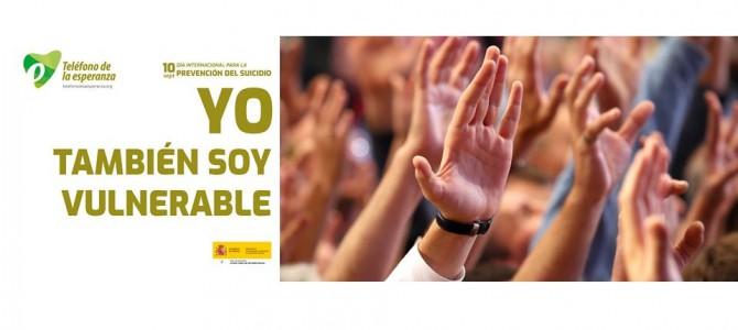 Nota de Prensa. 10 sept. Día Internacional Prevención del Suicidio – Campaña T.E. Canarias 2019