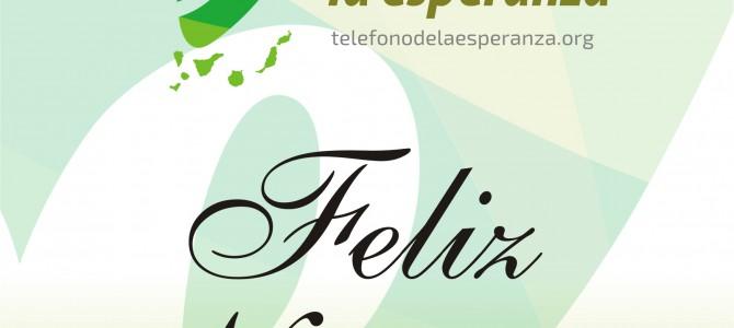 EL EQUIPO DE TELÉFONO DE LA ESPERANZA DE CANARIAS TE DESEA ¡FELIZ NAVIDAD!
