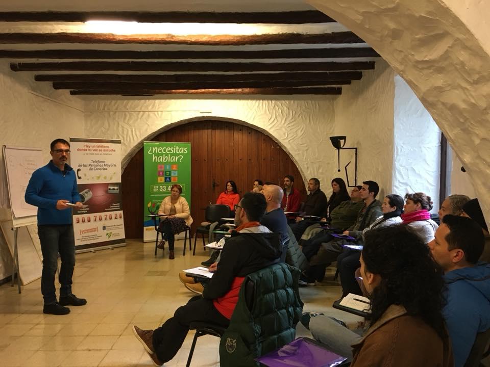 José Cabrera en la charla del sábado por la mañana