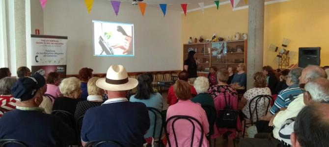 El Teléfono de la Esperanza de Canarias presenta El Teléfono de las Personas Mayores en Fuerteventura
