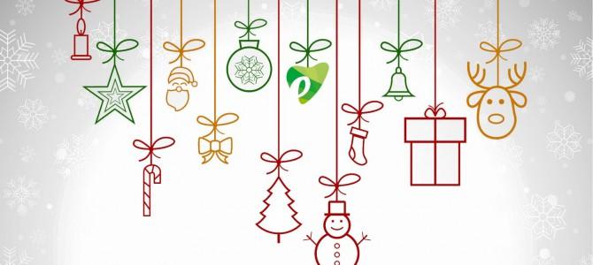 ¡¡Felices Fiestas!!  ¡Gracias por estar ahí, también en Navidad!