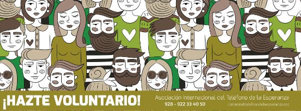 ¡¡Hazte Voluntario/a de Teléfono de la Esperanza!!