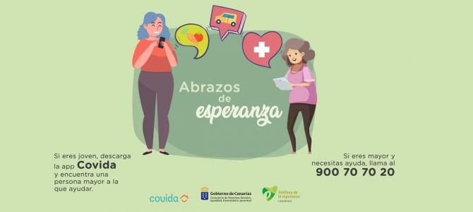 Teléfono de la Esperanza activa dispositivo para atender durante confinamiento a los más de 71.000 mayores que viven solos en Canarias