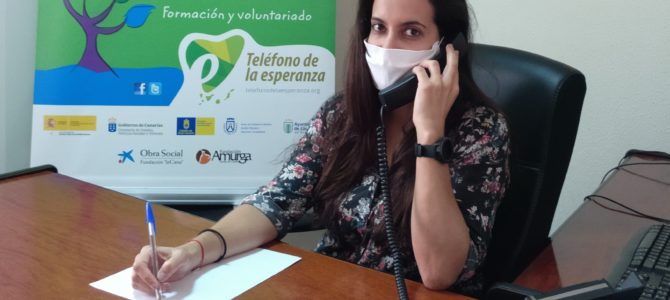 """Fundación """"la Caixa"""" a través de la Acción Social de CaixaBank, dona 9.000 €  para reforzar el dispositivo de atención a mayores de Teléfono de la Esperanza durante la crisis covid 19"""