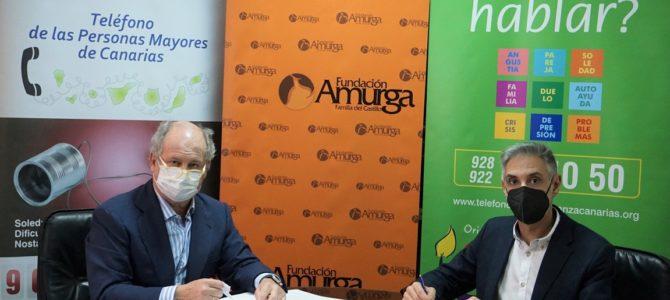 El Teléfono de la Esperanza llega al sur de Gran Canaria de la mano de la Fundación Amurga
