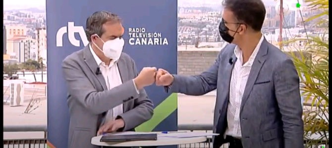 Radio Televisión Pública de Canarias colabora con Teléfono de la Esperanza